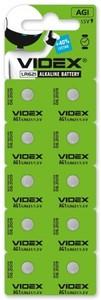 Батарейка Videx AG1/LR621 10шт.