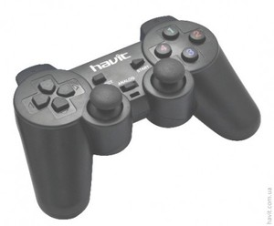 Джойстик Havit HV-G70 PS2 Black