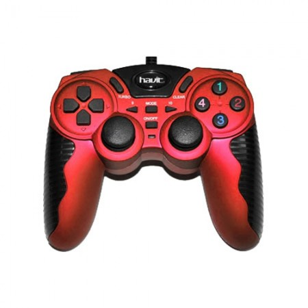 Джойстик Havit HV-G82 USB+PS2+PS3 Red