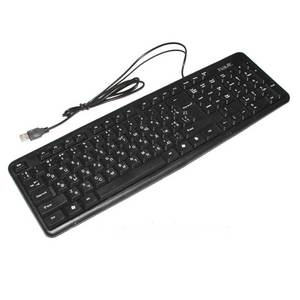 Клавиатура Havit HV-KB321, USB, black