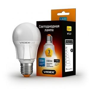 Светодиодная лампа (LED) Videx A60 15W E27 4100K 220V