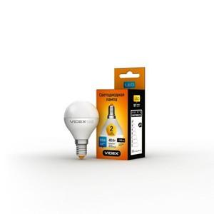Светодиодная лампа (LED) Videx G45e 3.5W E14 3000K 220V