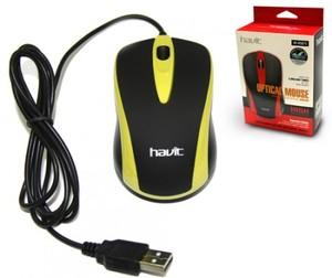 Мышь Havit HV-MS675 USB, yellow