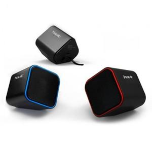 Колонка Havit HV-SK473 USB, black/blue