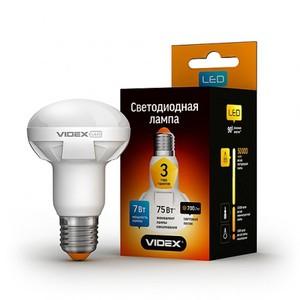 Светодиодная лампа (LED) Videx R63 7W E27 4100K 220V