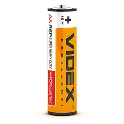 Батарейка солевая Videx R6P/AA 1.5V 4 шт. SHRINK CARD