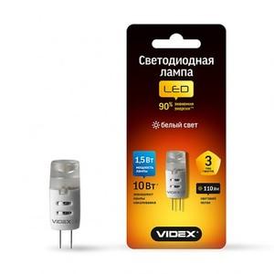 Светодиодная лампа (LED) Videx G4 1.5W G4 4100K 12V