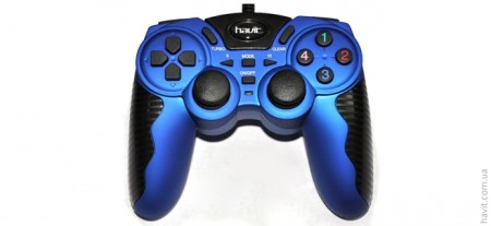 Джойстик Havit HV-G82 USB, Blue