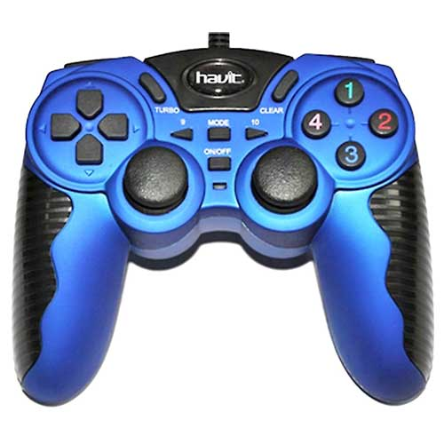 Джойстик Havit HV-G82 USB+PS2+PS3 Blue