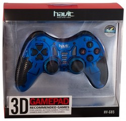 Джойстик Havit HV-G85 USB+PS2+PS3 Blue