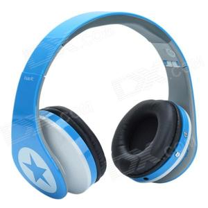 Наушники Havit HV-H99TF MP3, FM Blue