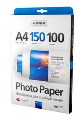 Фотобумага Videx глянцевая А4 150г/м2 100л
