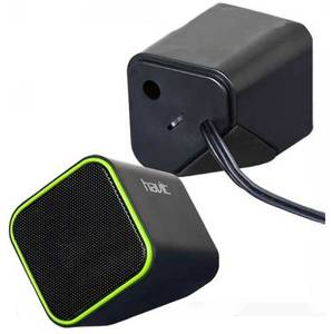 Колонка Havit HV-SK473 USB, black/green