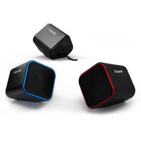 Колонка Havit HV-SK473 USB, black/red